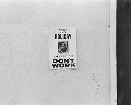 Martin Luther King Anniversary Don't Work Photo Print