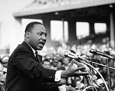 Martin Luther King, Jr. Giving Speech Photo Print for Sale