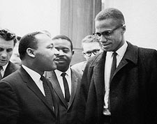 Martin Luther King Jr. & Malcolm X 1964 Photo Print for Sale