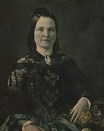Mary Todd Lincoln 3/4 Seated Portrait Photo Print