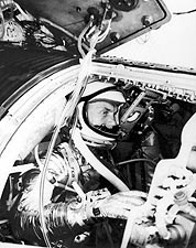 Mercury Astronaut John Glenn Training NASA Photo Print for Sale