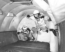 Mercury Astronauts Simulate Weightlessness Photo Print for Sale