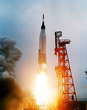 Mercury Aurora 7 Atlas Rocket Launch NASA Photo Print for Sale