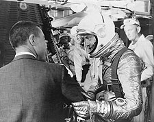 Mercury Freedom 7 Astronaut Alan Shepard Photo Print for Sale