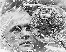 Mercury John Glenn Training Device Photo Print for Sale