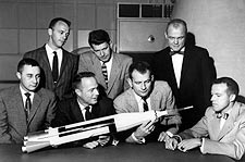 Mercury Seven Astronauts Group Portrait Photo Print for Sale