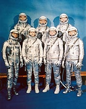 Mercury Seven Astronauts Photo Print for Sale