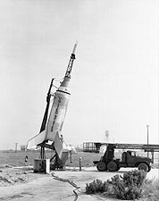 Mercury Test Little Joe Rocket Photo Print for Sale