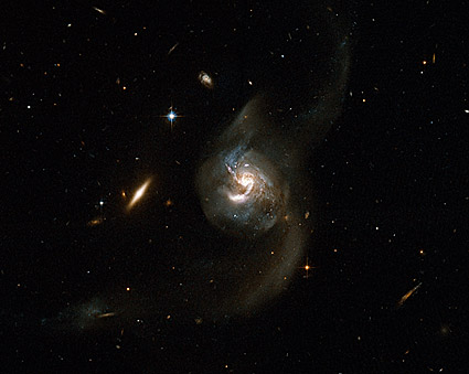 Merging Galaxies Hubble Space Telescope  Photo Print