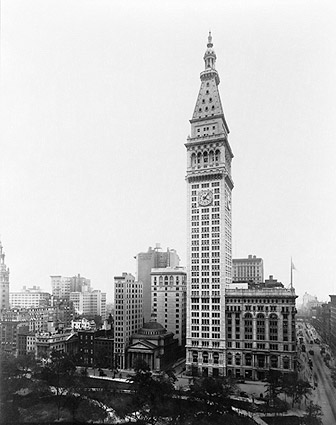 Metropolitan Life Insurance Bldg NYC 1913 Photo Print