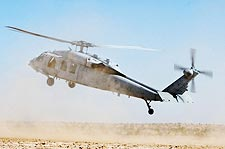 MH-60S / H-60 Knighthawk Helicopter Landing Photo Print for Sale