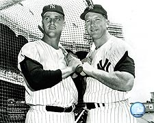 Mickey Mantle & Roger Maris NY Yankees Photo Print for Sale