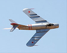 MiG-17 Fighter Aircraft with Afterburner Photo Print for Sale
