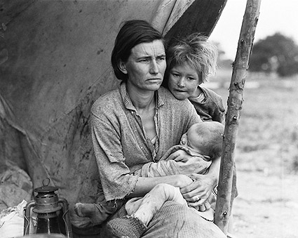 Migrant Mother Series by Dorothea Lange Photo Print