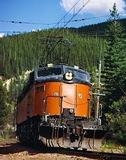 Milwaukee Road 'Little Joe' Train Photo Print for Sale