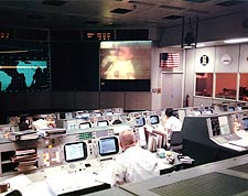 NASA Mission Control Apollo 13 TV Transmission Photo Print for Sale