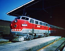 Monon 84-A Train  Photo Print for Sale