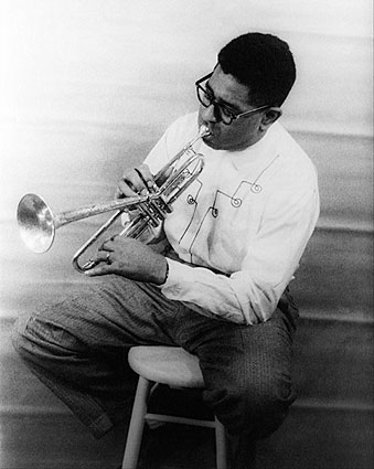 Musician Dizzy Gillespie Portrait Photo Print