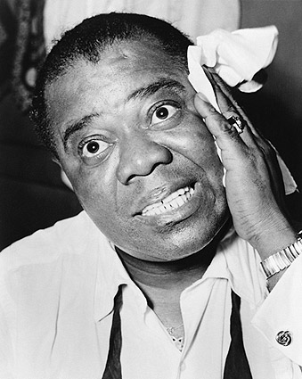 Musician Louis Armstrong Portrait Photo Print