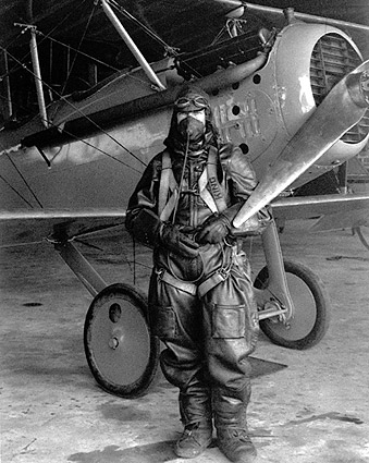 NACA Test Pilot Paul King with Vought VE-7 in 1925 Photo Print