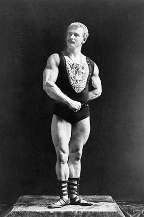 Napoleon Sarony Portrait of Bodybuilder Eugen Sandow Photo Print