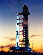 NASA Apollo 8 Spacecraft Launch Pad A Photo Print for Sale