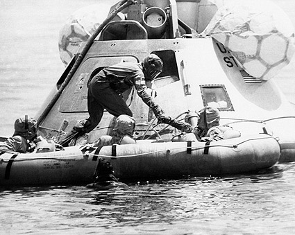 NASA Command Module Recovery Exercise Apollo 11  Photo Print