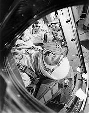 NASA Gemini 4 Astronauts James McDivitt and Edward White Photo Print for Sale