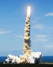 NASA STS-121 Discovery Launch Wide Shot Photo Print for Sale