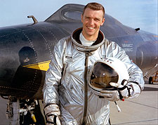 NASA Test Pilot Joe Engle w/ X-15 Photo Print for Sale
