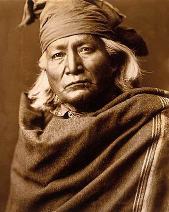 Native American Chino by Edward S. Curtis Photo Print
