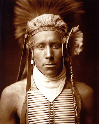 Native American Edward S. Curtis Portrait Photo Print