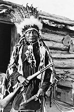 Native American Indian W/ Peace Pipe 1912 Photo Print for Sale