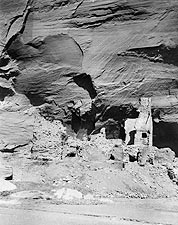 Navajo Cliff Dwelling Edward S. Curtis 1907 Photo Print for Sale