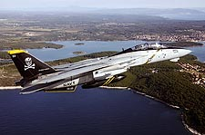 Navy F-14 'Jolly Rogers' VF-103 Croatia Photo Print for Sale