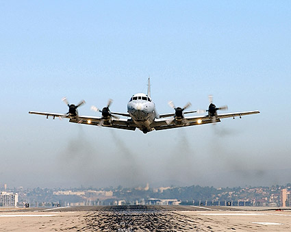 navy p 3 orion patrol aircraft take off photo print for sale