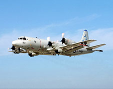 Navy P-3 / P3-C Orion Aircraft in Flight Photo Print for Sale