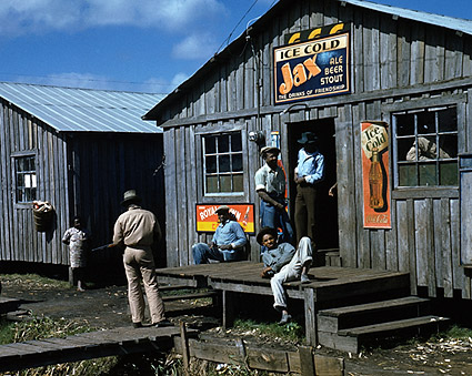 Negro Juke Joint by Marion Post Wolcott Photo Print
