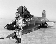Neil Armstrong w/ X-15 Photo Print