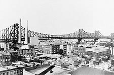 New York City Queensboro Bridge 1908 Photo Print for Sale