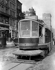 New York City Streetcar 1920s Photo Print for Sale