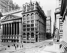New York Stock Exchange & Wilks Building Photo Print for Sale