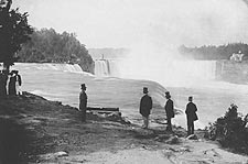 Niagara Falls Daguerreotype by Platt Babbitt  Photo Print for Sale