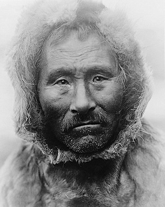 Noatak Indian Man Edward S. Curtis 1929 Photo Print