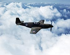 North American P-51 Mustang Fighter WWII Aircraft Photo Print for Sale