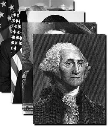 Official Presidential Photos Complete B&W Collection Photo Prints