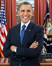 Official Presidential Portrait of Barack Obama 2012 Photo Print for Sale