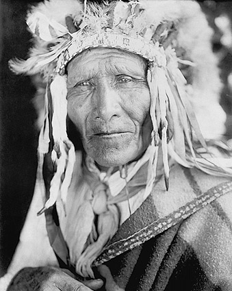 Oglala Sioux Indian Chief Edward S. Curtis Photo Print