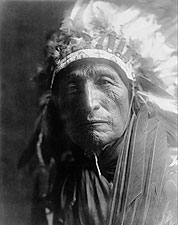 Oglala Sioux Indian Edward S. Curtis Portrait Photo Print for Sale
