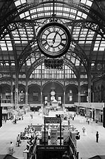 Old Penn Station Interior, New York City Photo Print for Sale